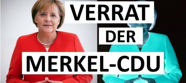Der Verrat der Merkel-CDU (Titelbild)